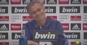 """Mourinho Volta a Sacar de uma Cábula e """"arrasa"""" com Classe Jornalista Espanhol"""